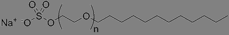 Natrium laurylæter sulfat