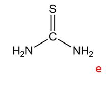 Thiourinstoffer (eks. Thiourea CS(NH2)2