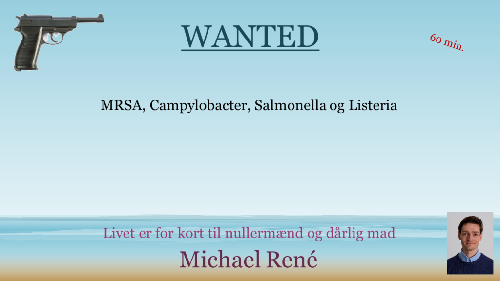 Wanted, 2. ed. 60 min.